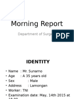 Morning Report Ortho Hilman