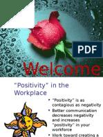 Positivity info