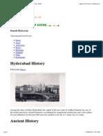 Hyderabad History _ Hyderabad, Andhra Pradesh, India