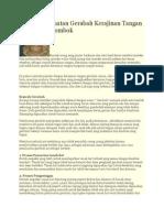 Proses Pembuatan Gerabah Kerajinan Tangan Khas Pulau Lombok