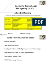Session 01 - Introduction to Lean Six Sigma