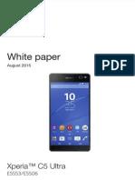 Whitepaper en e5553 e5506 Xperia c5 Ultra