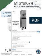 DCM270BAH Hoshiszaki Ice Machine Use_Care Manual