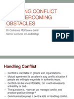 CPLM-10 Handling Conflict and Overcoming Obstacles