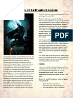 Scions of Gotham Escalation League for Batman Miniatures Game (BMG)