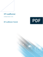 HP LoadRunner 12.02 Tutorial T7177-88037
