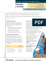Surge Pressures in Piping Systems