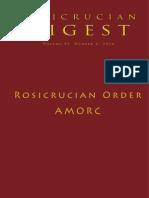 Rosicrucian Digest Rosicrucian Order AMORC Full 2014