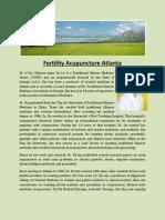 Fertility Acupuncture Atlanta