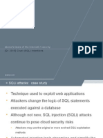Cruel SQL Injection   Web Application Attacks   Summary