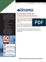 Tripwire Enterprise 8.3.8 Platform Support Datasheet