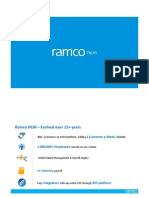 Ramco HCM Solution