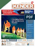 Indian Weekender 14 August 2015