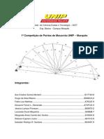 Relatório Da Ponte de Macarrão Unip