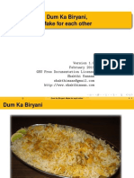 Dum Ka Biryani Make for Each Other
