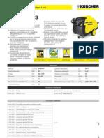 Idropulitrice a caldo Karcher HDS 1150-4 S