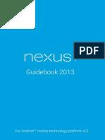 Google Nexus 7 2013 User Manual