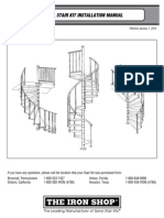 Metal Spiral Stairs Install Manual