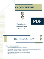 Dna Based Computing