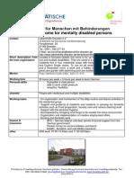 Wohnheim für behinderte Menschen Dresden