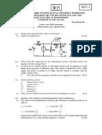 r05010501-Basic Electrical Engineering