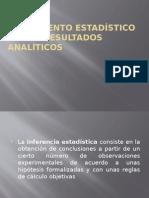 Tratamiento Estadístico de Los Resultados Analíticos