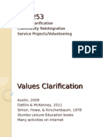 Values Clarification.2011.ppt