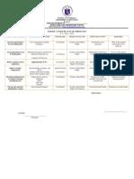School Action Plan in Mathematics