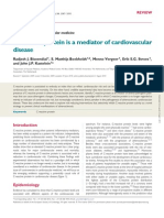 Crp is a Mediator of Cv Disease