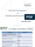 IBS - Survival Portuguese Brazilian Business Etiquette Agosto 2015