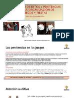 Colección de Retos y Penitencias Para Juegos y Fiestas