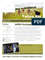 Valley Life Clyde and Avon Valley Landscape Partnership Newsletter August 2015