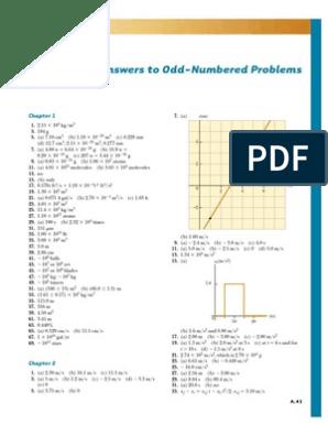 Answers to Odd-Numbered Problems.pdf | Physics & Mathematics ...