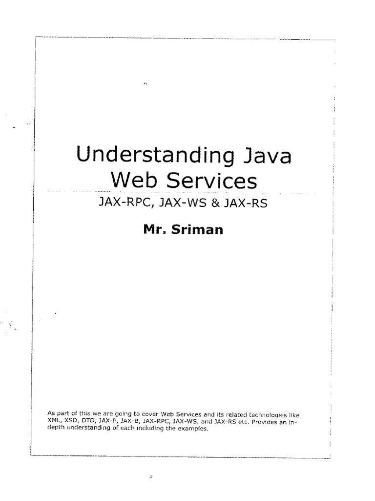 Webservices in java tutorial pdf choice image any tutorial examples java web services srimanpdf baditri choice image baditri Gallery