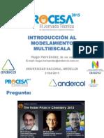 Modelamiento Multi-escala (Hugo Hernández)