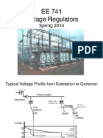 Application of Voltage Regulators