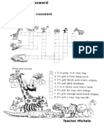 Wild Animals Crossword