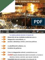 Urbanismo y Espacio Público