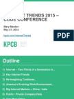Mary Meeker KPCB Internet Trends 2015 Code Conference_May 27, 2015