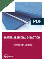 Constitución española material sobre ella