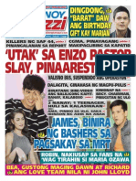 Pinoy Parazzi Vol 8 Issue 99 August 14 - 16, 2015