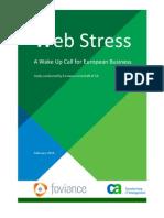Web Stress Experiment 2010 CA Foviance