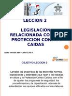 GEMSSIND - TSA - Marco Legal - Relacionada con la Protección Contra Caídas version gem (2) (1).ppt