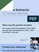 alvin submarine