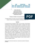 Avaliação de Postos de Combustíveis Em Palmas Quanto Ao Cumprimento Da Resolução Conama 273 2000.