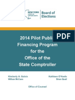 Final Public Financing 2014 Report