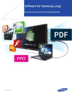 MagicInfo Lite Software White Paper