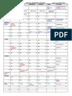USAF Academy Academic calendar AY1516