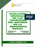 Informe de la situación de las pensiones en España (FEB010)