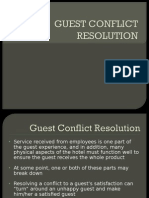 Guest Conflict Resolution